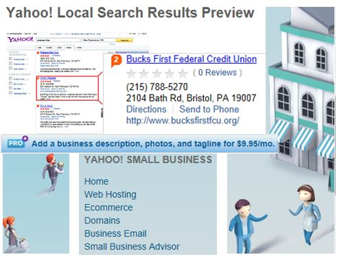 Small Business Marketing Yahoo