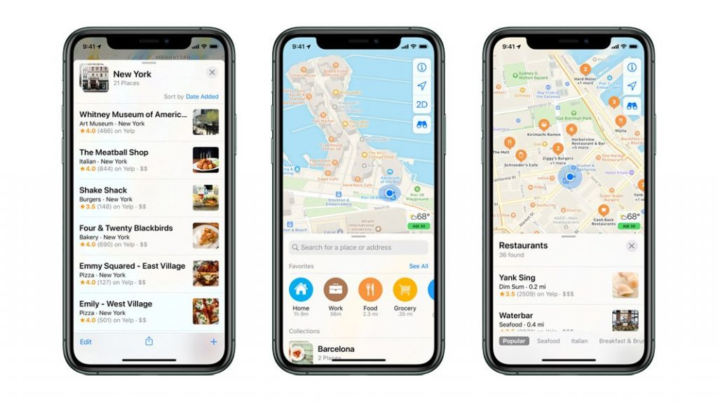 Apple Maps Business Listings
