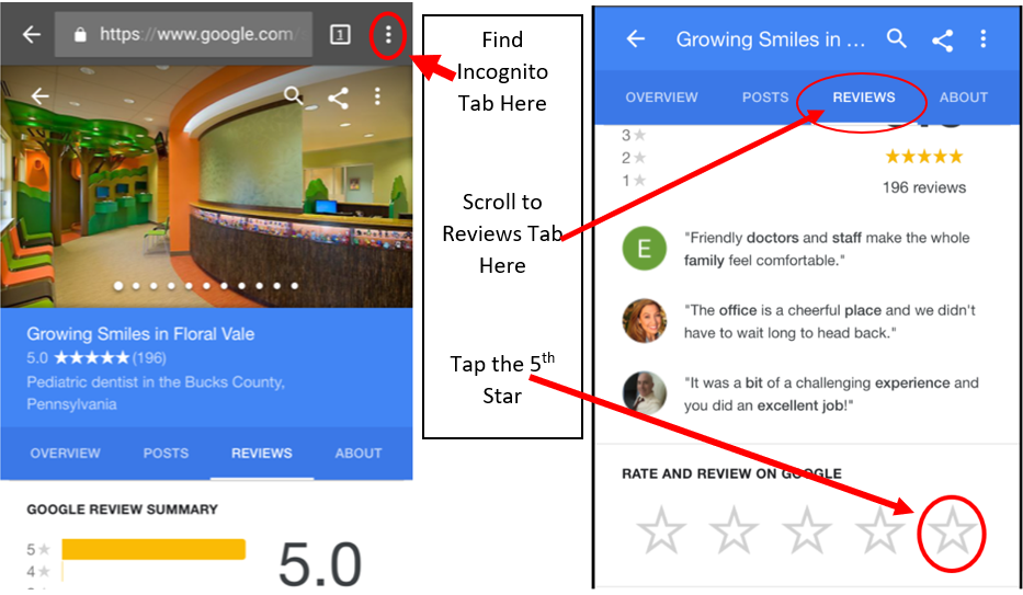how to get your google my business link